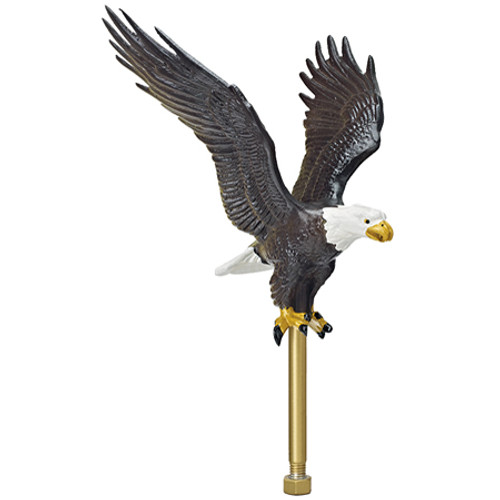 "5"" Flying Eagle Ornament - Natural Color EAG-0450-NAT"