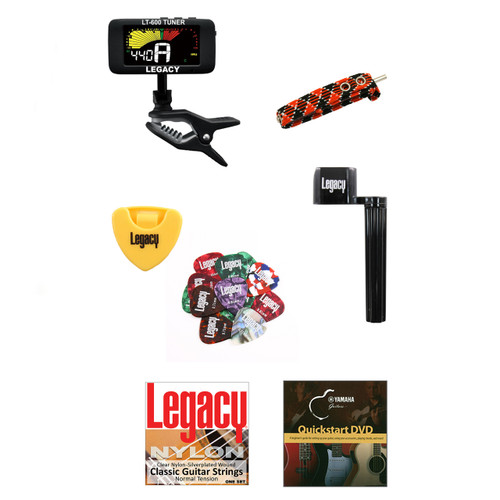 Legacy Accessory Kit for Classical Guitars