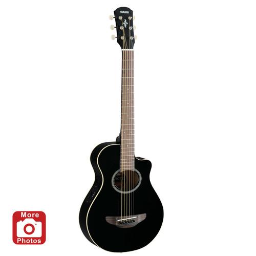 Yamaha APXT2BL Acoustic-Electric Guitar; Black; 3/4 Size