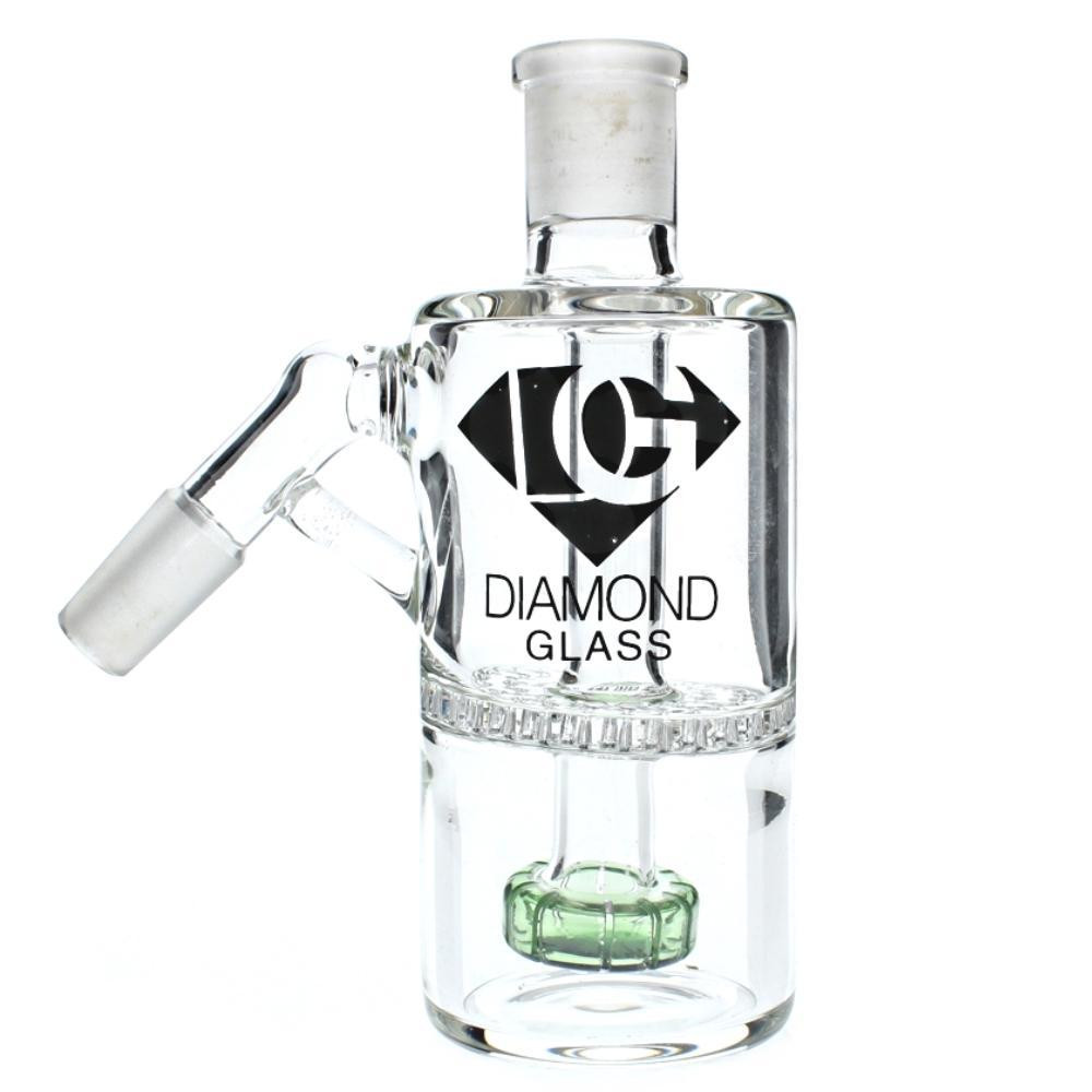Diamond Glass 14mm 45 Degree Honeycomb or Showerhead Ashcatcher