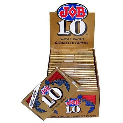 JOB 1.0 Gold, Single Wide Rolling Paper