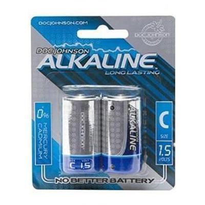 Doc Johnson Alkaline C Batteries (2pk.)