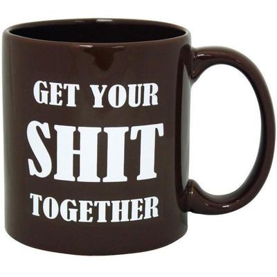"""Giant """"Get Your Shit Together"""" Mug"""