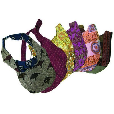 Assorted Batik Sling Hippie Bag