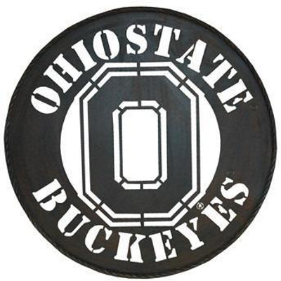 "OSU Metal Sign 24"""