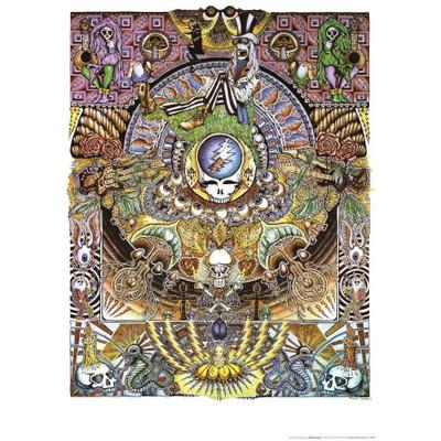 Grateful Dead Collage Poster