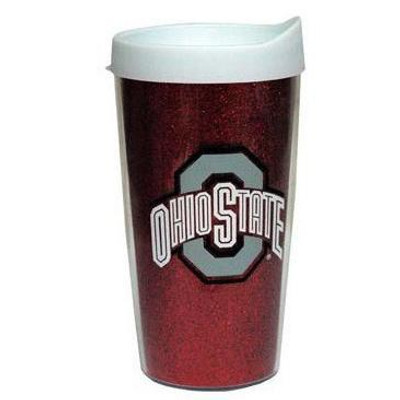Glitter Ohio State Travel Mug