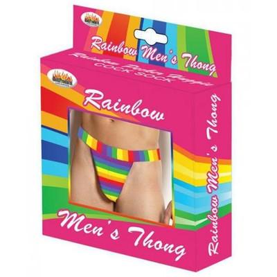 Men's Rainbow Thong
