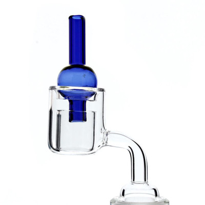 Glass Bubble Directional Airflow Carb Cap assorted colors