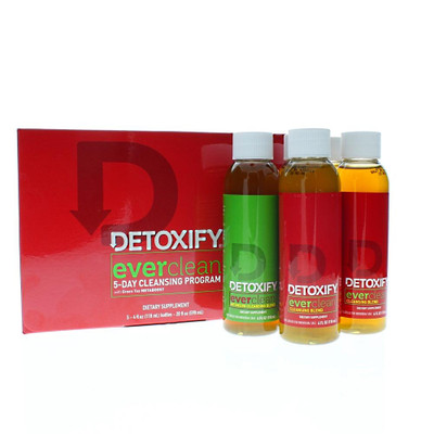 Detoxify Ever Clean 5 Day bottle and packaging