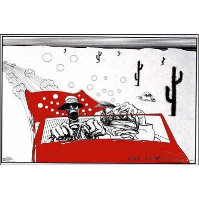 Gonzo Fear & Loathing Poster