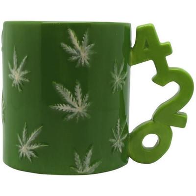 Green Leaf 420 Mug
