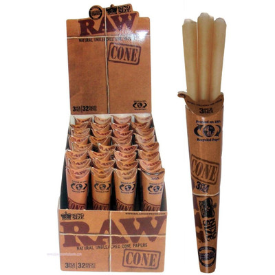 Raw Pre-Roll Cones King Size