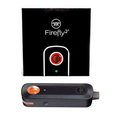 Firefly 2 Dry Herb & Concentrate Vaporizer Kit in Black