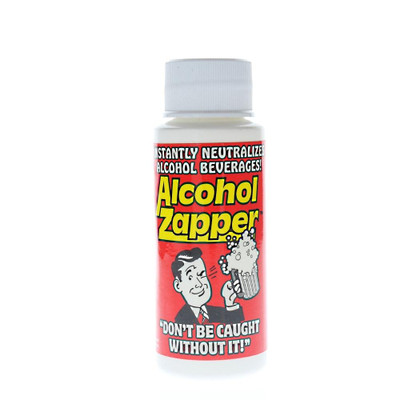 Alcohol Zapper 2oz Liquid