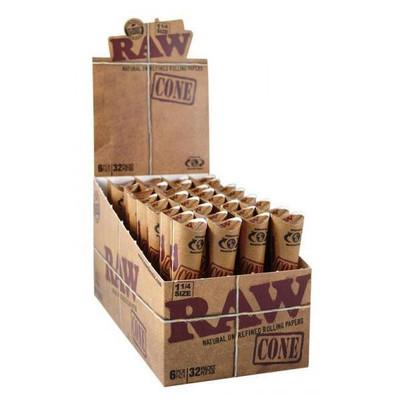 Raw Pre-Roll Cones 1 1/4