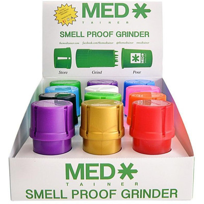 Medtainer Smell Proof Grinder Container