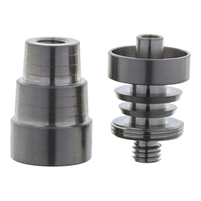 Domeless Titanium Nail, Interchangeable Male & Female 14mm to 19mm
