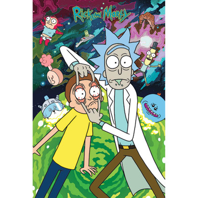 Rick & Morty Look Poster