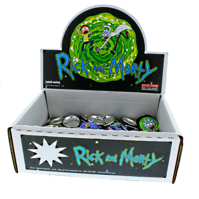Rick & Morty Buttons