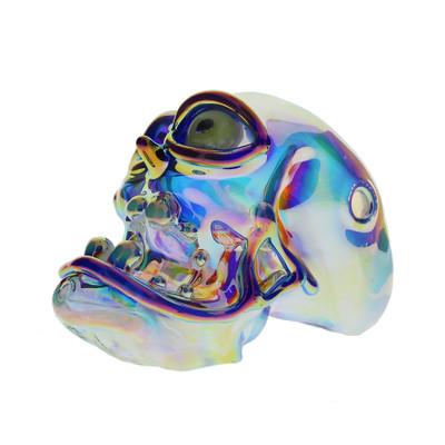 Chromatic Skull with UV Reactive Eye