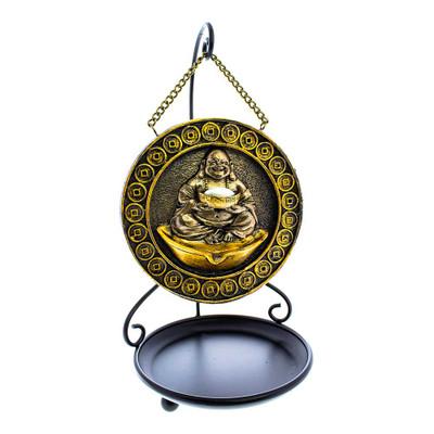 Hanging Buddha & Feng Shui Fortune Backflow Incense Burner