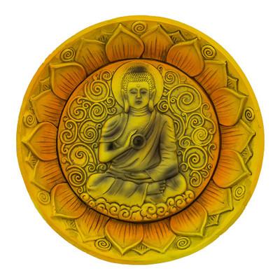 Buddha Round Incense Burner