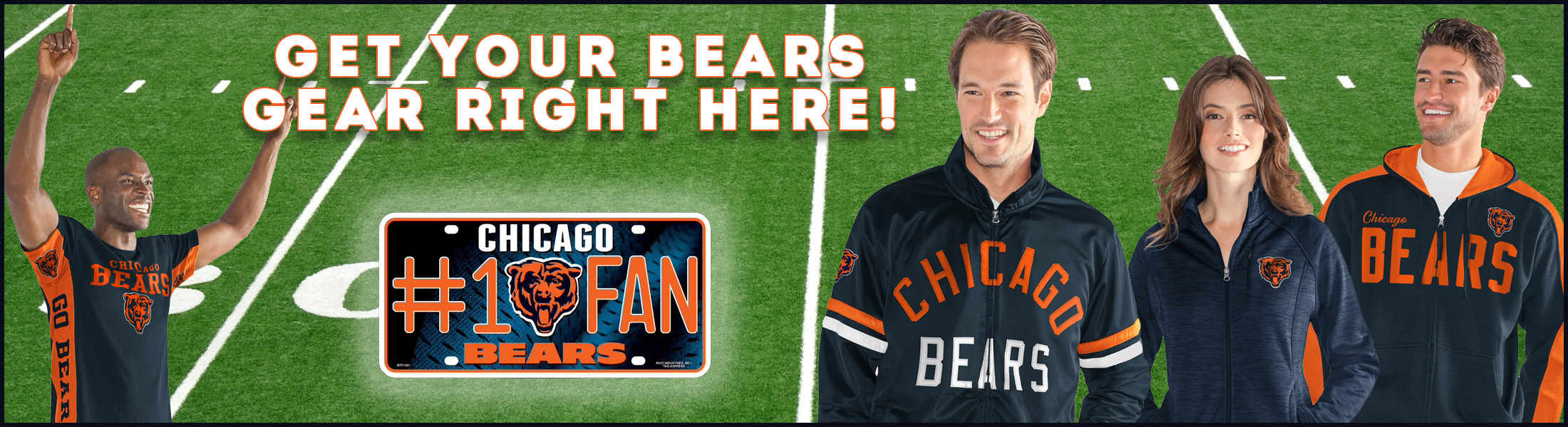 Chicago Bears Caps, Shirts, Sweatshirts & More at SportsWorldChicago.com