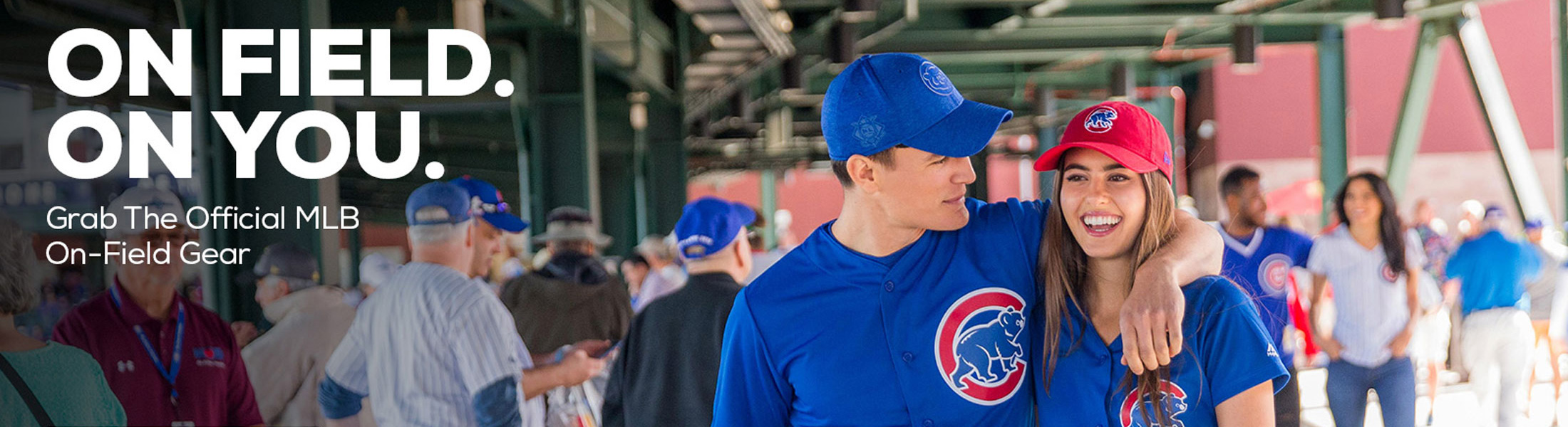 Chicago Cubs Official On-Field Gear at SportsWorldChicago.com