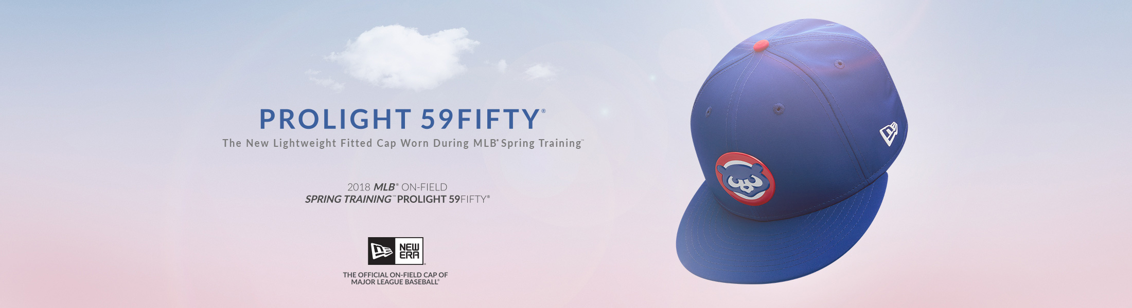 Chicago Cubs 2018 Prolight 59Fifty Cap at SportsWorldChicgo.com
