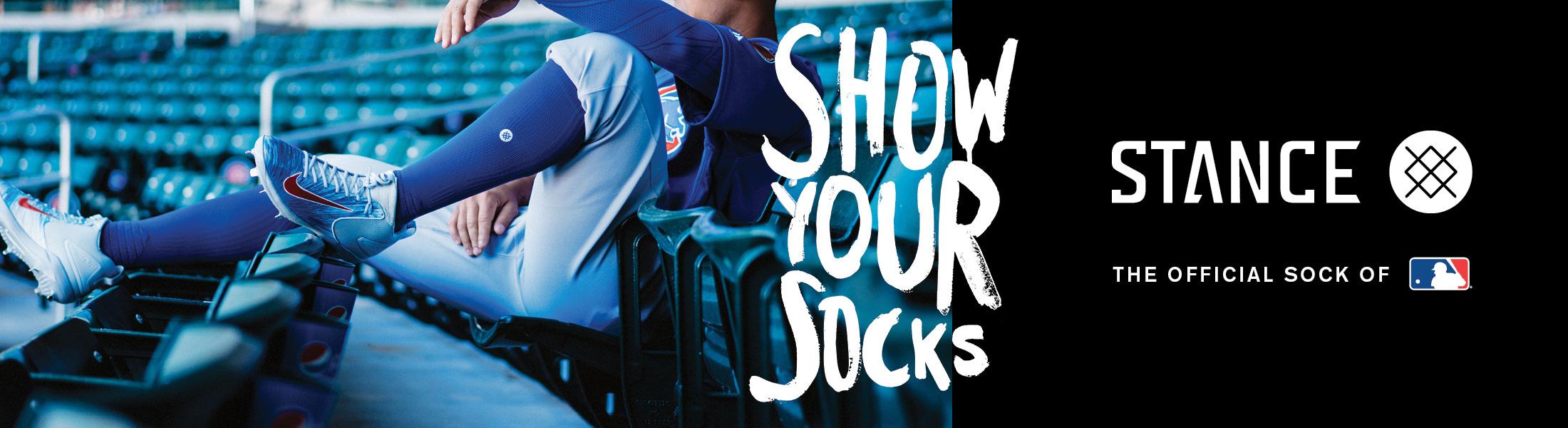 Chicago Cubs Socks at Stance at SportsWorldChicago.com