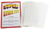Dirt Worx Schmere Super Stick It! Pack of 36 Clear Double-Sided Stick Strips (1 x 3 Inch)