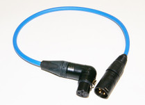 "TAI Audio 18"" Inch XLRF(RA) to XLR(MA) cable Blue"