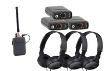 Comtek Bundle - Three Beltpack Receiver System with Sony Headphones
