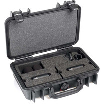 DPA d:dicate™ ST2006C STEREO PAIR WITH TWO 2006C, CLIPS AND WINDSCREENS IN PELI™ CASE