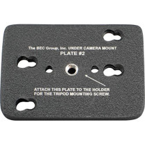 BEC Group BEC-BOTPLT2 Tripod Bottom Plate for Under Camera Placement