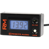 Remote Audio RMv2 Remote Meter for Battery Distribution Systems (2' Cable)