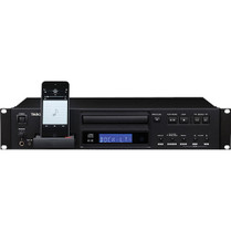 Tascam CD-200iL Professional CD Player with 30-Pin and Lightning iPod Dock