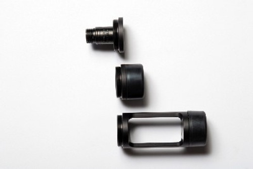 PSC End Cap, W/ Male Xlr (Coiled Kit Replacement)