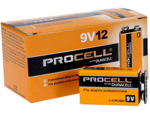 Duracell 9 Volt Procell Battery (Box of 12)