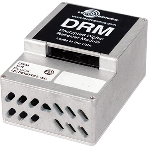 Lectrosonics DRM Encrypted Digital Receiver Module (Block 20)