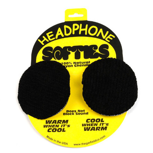Garfield Headphone Softies (Black) Sony 7506