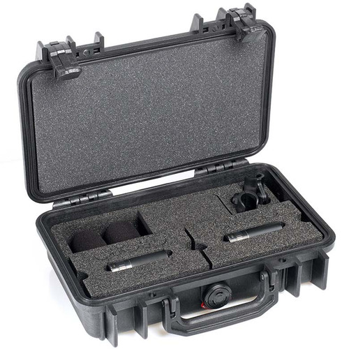 DPA d:dicate™ ST4011C STEREO PAIR WITH TWO 4011C, CLIPS AND WINDSCREENS IN PELI™ CASE