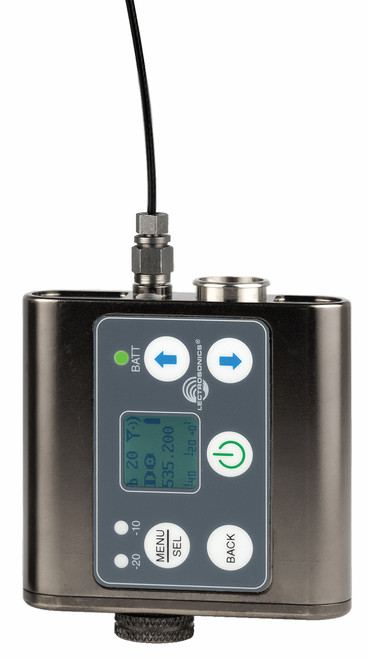 Lectrosonics SMDWB Wideband Dual Battery Wireless Microphone Transmitter & Recorder - Freq. A1 (470.100 - 537.575 MHz Blocks 470, 19, and 20)