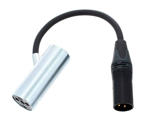 Coles 4071B Stand Adaptor with  XLR Connection for  4038 Microphone.