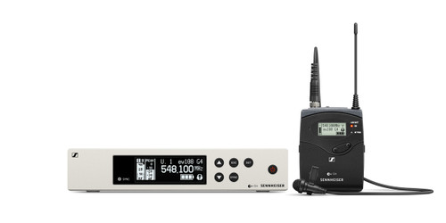 Sennheiser EW100 G4-ME2 Evolution Wireless G4 Lavalier System with ME2-II Omni Lavalier