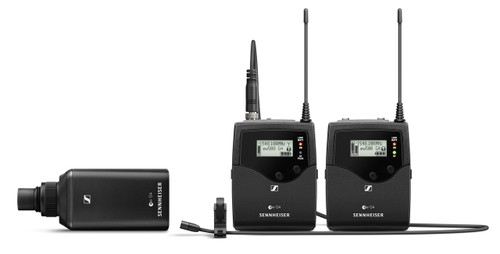 Sennheiser EW 500 FILM G4 Evolution Wireless G4 Portable Combo Set With Plug-On & Bodypack Transmitters