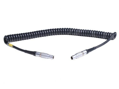 TAI Audio/ Sound Devices XL-LL 5-Pin Lemo to 5-Pin Lemo Coiled Timecode Cable