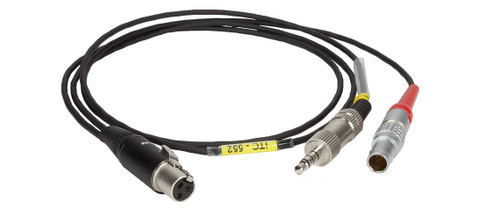Ambient iTC-552 Timecode Out Cable 5-pin Lemo to TA3F + 3.5mm TRRS