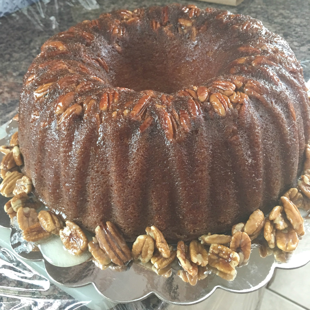 Rock'n RumChata! Rum Cake
